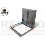 Люк напольный Лифт стандарт REVIZOR с амортизаторами ну800800